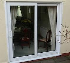upvc patio doors white sliding door