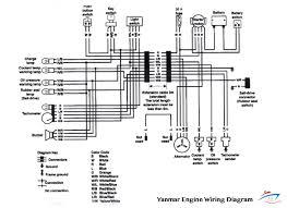 white yanmar marine instrument panel with 4 rocker switches, white wiring harness yanmar tractor at Yanmar Wiring Harness