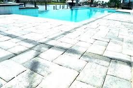 average cost of paver patio brick patio cost per square foot patio cost pool pool deck average cost of paver patio