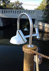 Dock Lighting Ideas Custom Built Dock Light With Rod Holders In 2019 Dock