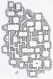 Dungeon Design For Gamer Plain Square Graph Paper For Board Game
