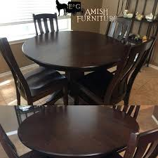 48 round solid wood dining table round pedestal dining table solid wood rustic expandable round wooden