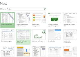 Office Tempaltes The Office Templates Within Microsoft Project The Project