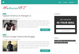 Blogger Templates 2019 Layouts And Themes For Blogger Blogs