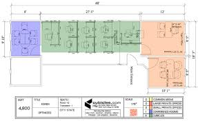 small office layout. Office Layout Plan With 8 Work Cubicles Officelayout Small