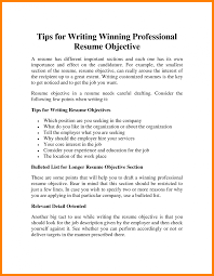 Objective Resume Samples Luxury How To Write Good For A An