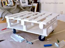 Coffee Tables Out Of Pallets Diy Pallet Coffee Table Tutorial
