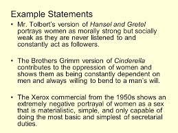 Examples Of Feminist Criticism