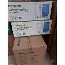 Mã 158ELSALE hoàn 7% đơn 300K] Máy sấy quần áo Kangaroo KG332 (KG-332) 4kg  1000W bảo hành 12 tháng