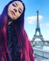 Meet Hana Grimess Purple Haired Bff Vogue