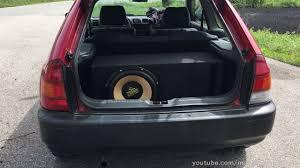 <b>Audio System XION</b> 15-1000 in Mazda 323P - YouTube