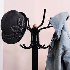 Coat Hat Racks Beauteous VINTAGE METAL COAT Hat Rack Tree Stand Clothes Hanger Hooks Umbrella