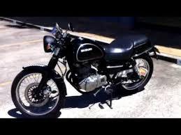 my little suzuki tu250x cafe racer custom black