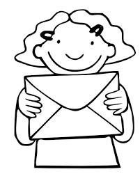 Thema Post Postbode Marie Kleurplaat Thema Postbode