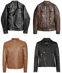 the coolest leather biker jackets for men