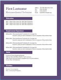 Download Resume Template Word 2010 Best Sample Free Download Resume