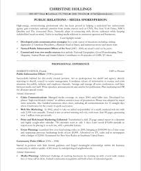 sample public relations resume sample pr resumes rome fontanacountryinn com