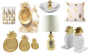 Small Picture 20 Beautiful Gold Pineapples for Home Decor The Kim Six Fix