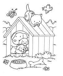 Coloriages De Chiens Coloriages Enfants Biboon