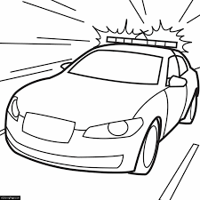Small Picture Police Car Coloring Pages eColoringPagecom Printable Coloring