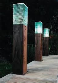 garden bollard lighting. Led Bollard Garden Lights Best 25 Diy Exterior Lighting Ideas On Pinterest R