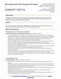 Program Analyst Resume Luxury 43 New Pliance Analyst Resume Sample