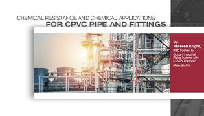Chemical Resistance And Chemical Applications For Cpvc