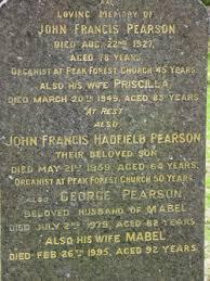 Priscilla Hadfield Pearson (1867-1949) - Find A Grave Memorial