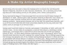 a make up artist biography sle biographywritingservices makeup artist bio exles