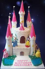 Disney Princess Castle Cake Cakecentralcom
