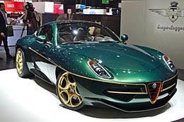 alfa romeo 8c disco volante. Simple Volante Alfa Romeo Disco Volante By Touring And 8c