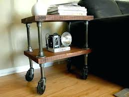 industrial pipe furniture. Pipe Furniture Fittings Industrial Side Table Fitting Grade .