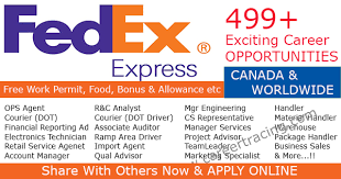 Fedex Jobs Beauteous FedEx Canada Largest Group Join Career Tips Jobs Tips