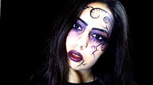 easy witch halloween makeup
