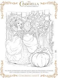 Cinderella Printables Free Coloring Sheetsfree