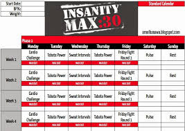 workout sheets arnel banawa insanity max 30 workout sheets max 30 workout calendar