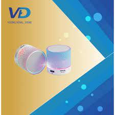 Loa bluetooth mini đèn led nhấp nháy theo nhạc S90U - Loa Kéo