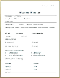 Outlook Meeting Agenda Template 9 Minutes Writing Examples Samples Doc Free Meeting Word