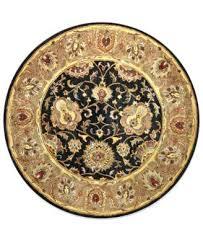 wilshire area rug round area rug black 6