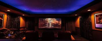home theater step lighting. home movie theater lighting step