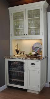 beautiful kitchen cabinet buffet ideas white painted wood buffet cabinet glass door grey granite buffet countertops