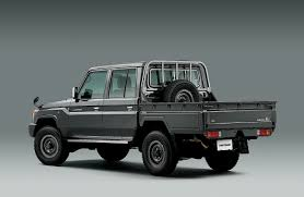 Spotted: Toyota Land Cruiser 70-Series Review // West County ...