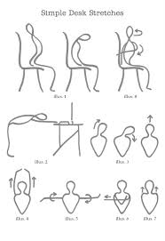 stretching at your desk
