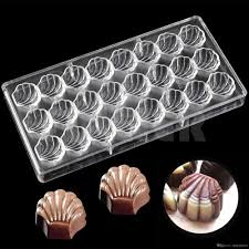 2018 diy plastic shell shape chocolate making mold wedding party kitchen baking pastry tools cake molds candy and chocolate molds from chendegai00