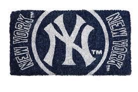 new york yankees premium 18 x30 welcome mat floor door rug doormat baseball