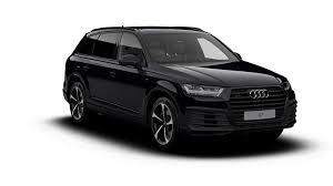 black audi.  Audi 2018 Audi Q7 Black Edition Intended N