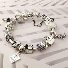 <b>50</b>% OFF!!! $379 Pandora Charm Bracelet Blue White. <b>Hot Sale</b> ...