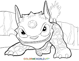 Small Picture Skylanders Hot Dog Coloring Page Hot Dog Free Color Page Download