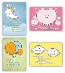 Cute And Cuddly Box Of 12 Assorted Baby Congratulations Cards Kjv