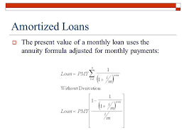 Amortize A Loan Formula Fil 240 Prepared By Keldon Bauer Ppt Video Online Download